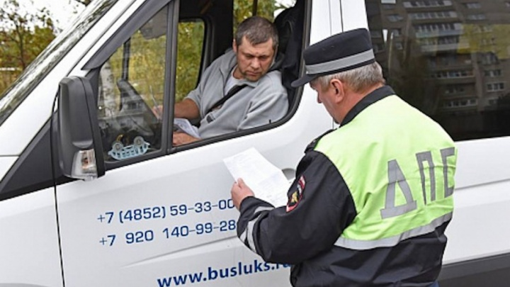 Ярославских маршрутчиков наказали за грязные автобусы и перегоревшие фары