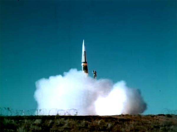 запуск ракеты Першинг II/кадр из видео/YouTube/Jeff Quitney