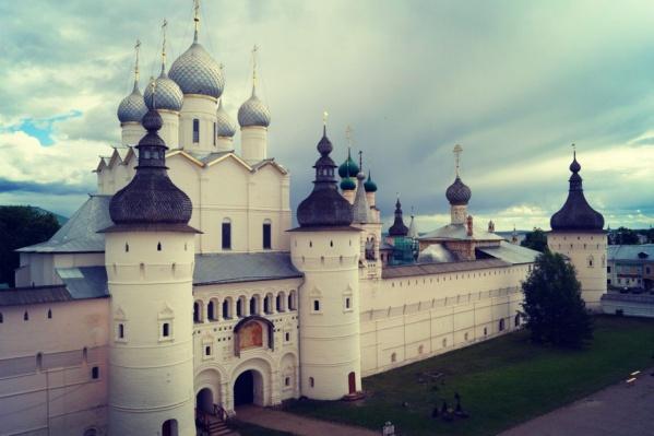Ростов Великий попал в список популярных древних городов страны