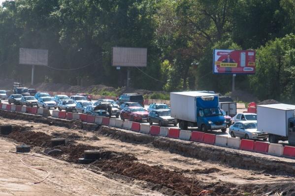 Московскому шоссе прочат новые пробки – уже после реконструкции