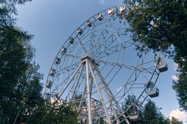 В выходные поэты будут сочинять стихи на колесе обозрения