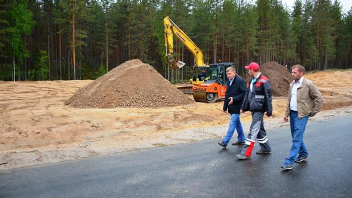 В Верхнетоемском районе дорожники открыли новый участок трассы Усть-Вага – Ядриха