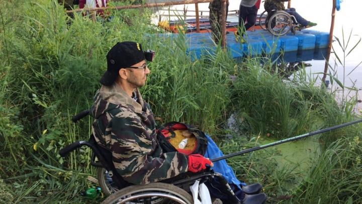 Ловили рыбу с пяти утра: под Тюменью прошел чемпионат среди людей с ограниченными возможностями здоровья