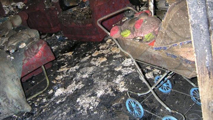 В страшном пожаре в Кировском районе Волгограда погибли мать и двое маленьких детей
