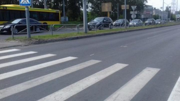 Заменили асфальт и нанесли разметку: на бульваре Гагарина в Перми завершен ремонт