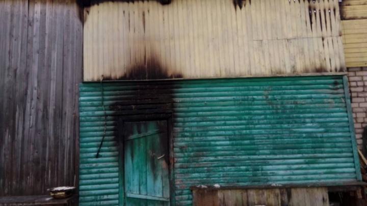 В Виноградовском районе котельная загорелась из-за самодельной буржуйки