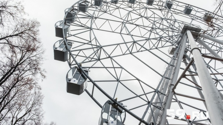 Как это работает. Увидеть город за 8 минут: как устроено самое большое пермское колесо обозрения