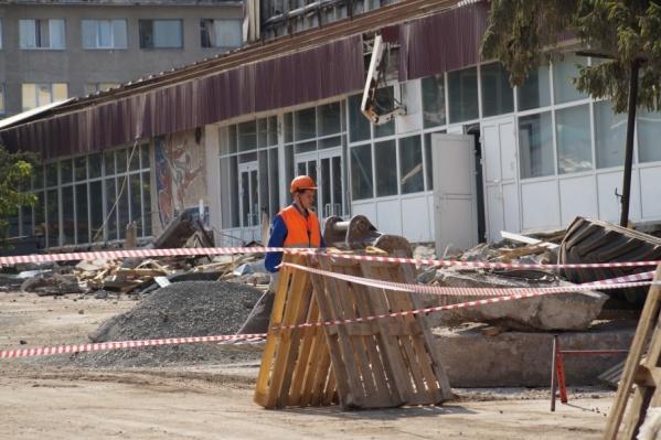 Новый ледовый дворец построят на месте старого спортобъекта