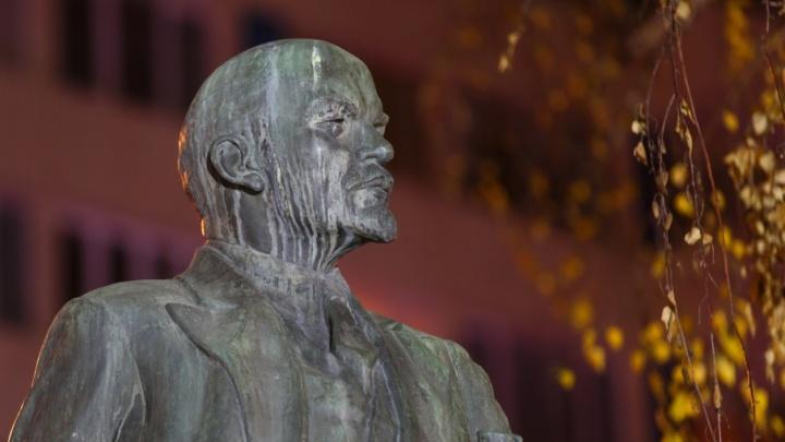 Депутатов Волгограда по утрам встречает засиженный голубями Ленин