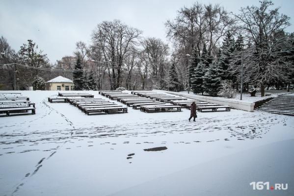 Неделя в Ростове начнется со снежной бури