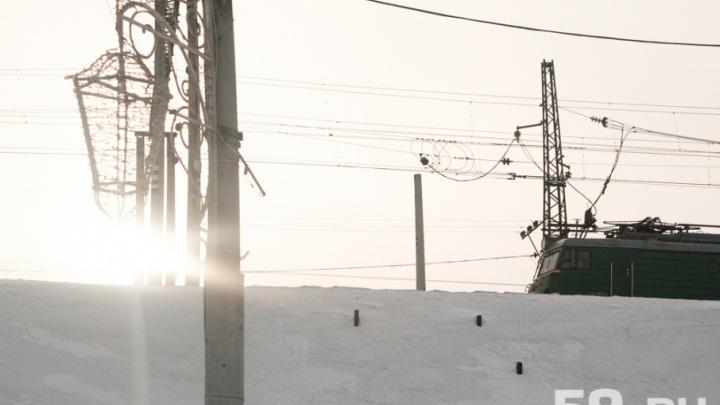 В Прикамье женщина погибла под колесами грузового поезда