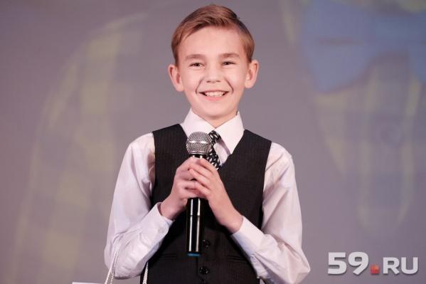 Мальчик планирует петь и дальше