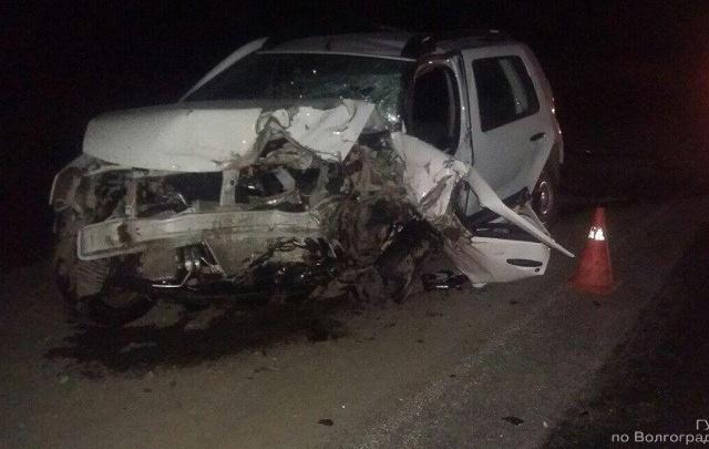 Под Волгоградом в аварии погибла молодая женщина