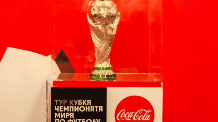 Челябинцы смогут сфотографироваться с кубком мира FIFA в течение четырёх дней