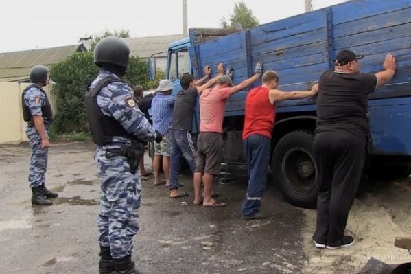 Задержанные признались в краже металла с предприятия