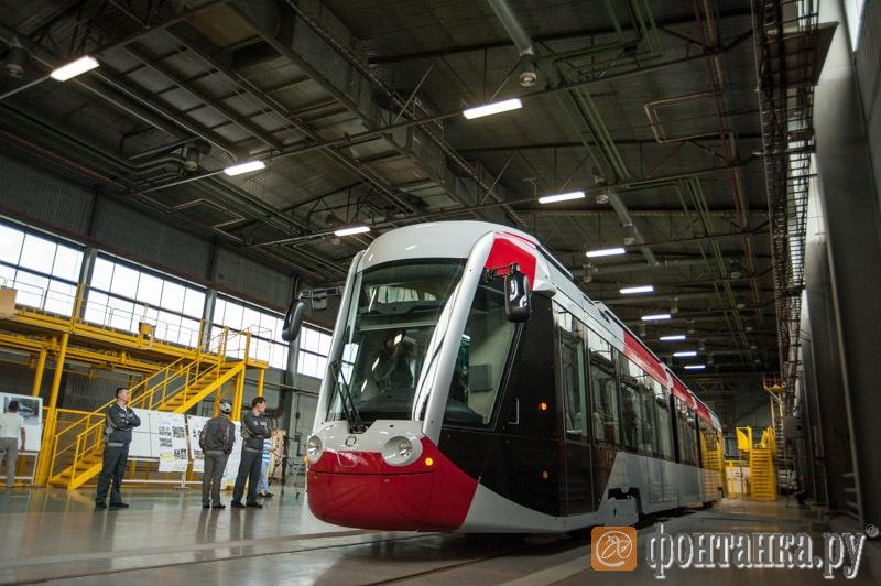 "трамвай Alstom и ""Трансмашхолдинга"""