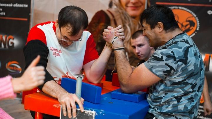 Любители армрестлинга померились силами в Челябинске