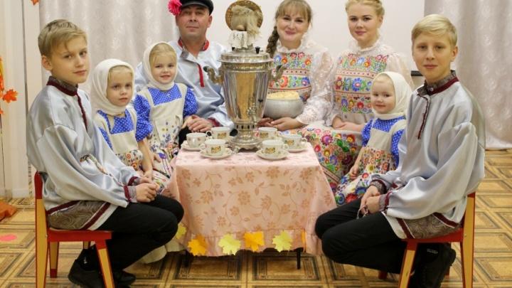 Семью из Няндомского района признали одной из лучших в России