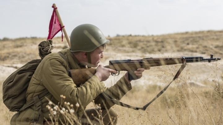 Штурм и натиск: волгоградцам вновь показали войну на Лысой горе