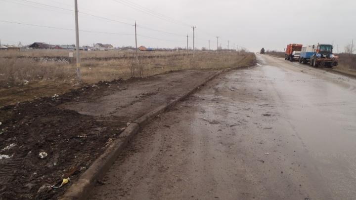 В Самарской области после вмешательства прокуратуры очистили обочины от свалок