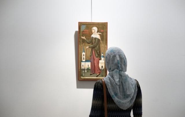 «Нежная кисть»: в Перми открылась уникальная выставка женщин-иконописцев