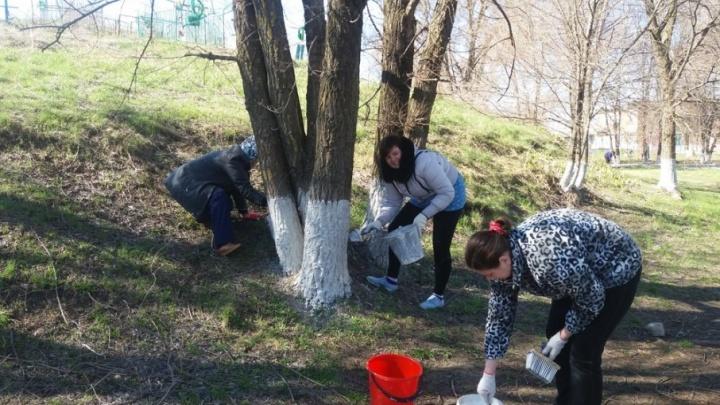 В Аксайском районе наводят чистоту — готовятся к встрече туристов чемпионата мира по футболу