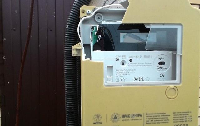 Энерговандалов привлекут к ответственности за уничтожение приборов учета электроэнергии