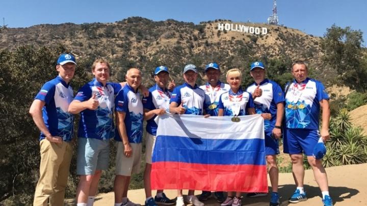 Тюменские полицейские привезли со Всемирных игр в Лос-Анджелесе 5 золотых медалей