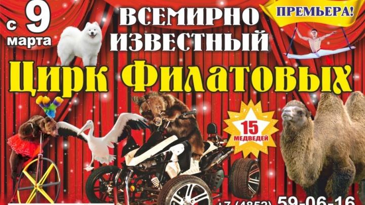 Смертельный номер: 15 хищников на арене ярославского цирка