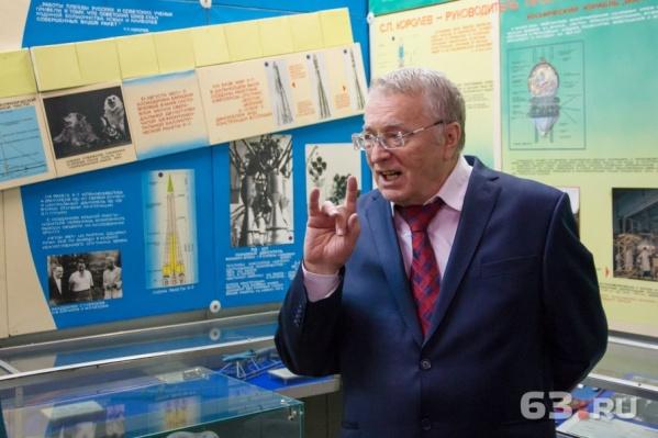 Владимир Жириновский, как всегда, был красноречив