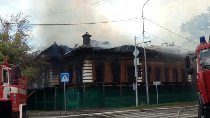Арендаторы, реставрировавшие дом купца Жернакова, рассказали, какая судьба ждёт сгоревшую усадьбу