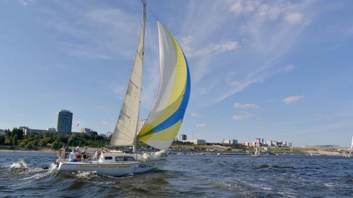 Напротив центра Волгограда пройдет гонка-парад лучших крейсерских яхт