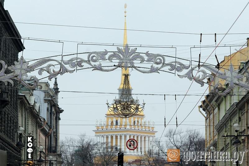 Украшение Невского проспекта - 13,5 миллиона