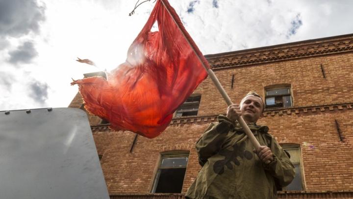 В Волгограде реконструкторы вновь взяли штурмом Берлин