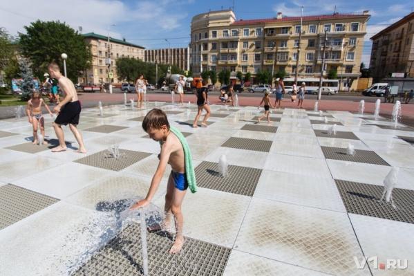 Новый фонтан откроется в парке «Семейный»