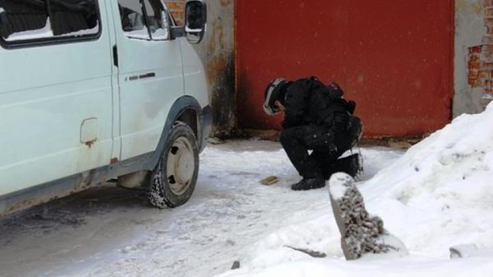 Во дворе Няндомской школы ученик нашел гранату