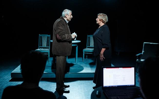Молодой режиссёр поставил на сцене Волковского историю пожилых Ромео и Джульетты