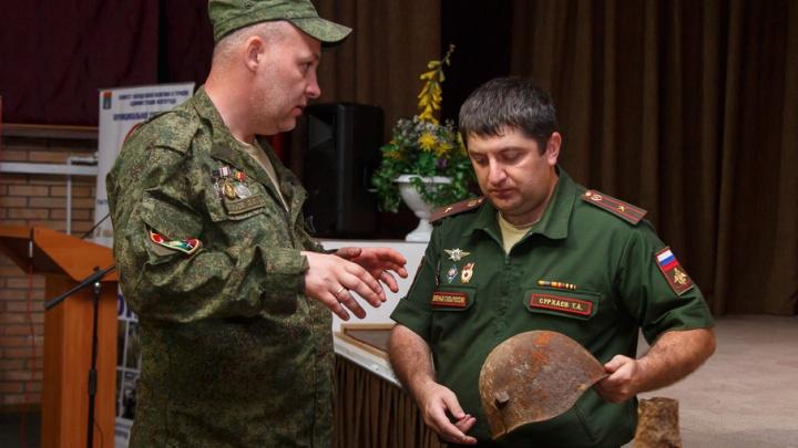 Новому музею 20-й гвардейской бригады передали вещи и оружие защитников Сталинграда