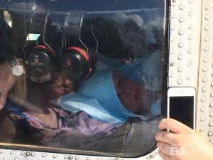 Диму повезли в больницу.