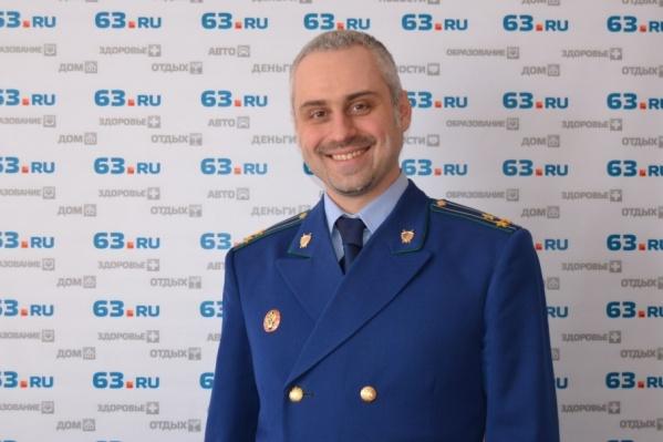 Дмитрий Попов перешел в мэрию из прокуратуры