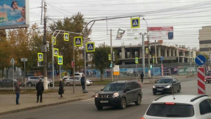 Больше пяти тысяч знаков-близнецов появилось на дорогах Волгограда