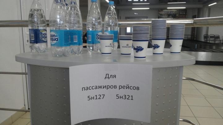 Пассажиры нескольких рейсов не смогли вылететь из Архангельска вовремя