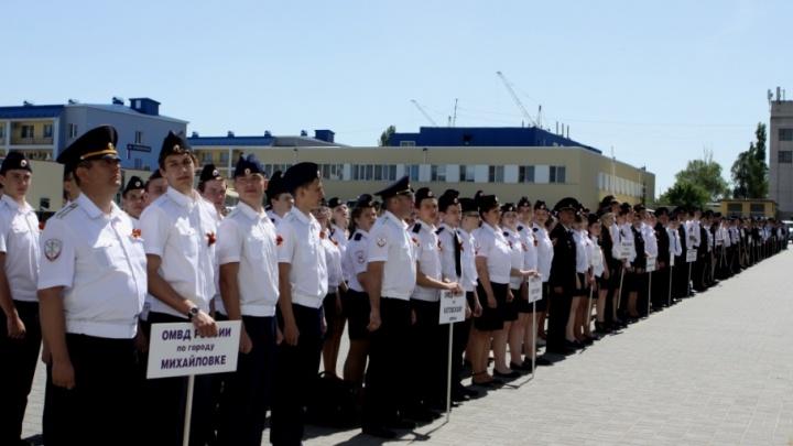 В Волгограде побывали 500 школьников из полицейских классов