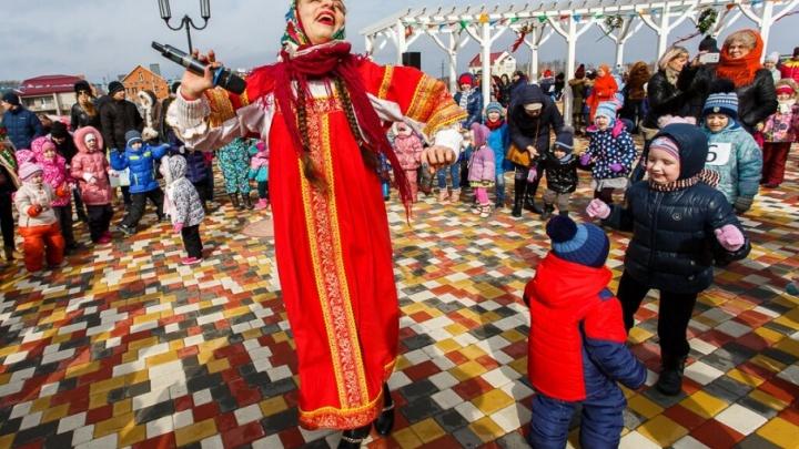 Русская драка и спортивные снеговики: Волгоград готовится к проводам зимы