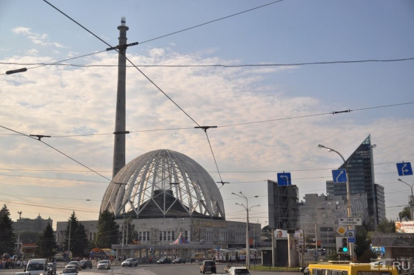 Недостроенная телебашня – самое высокое сооружение в Екатеринбурге