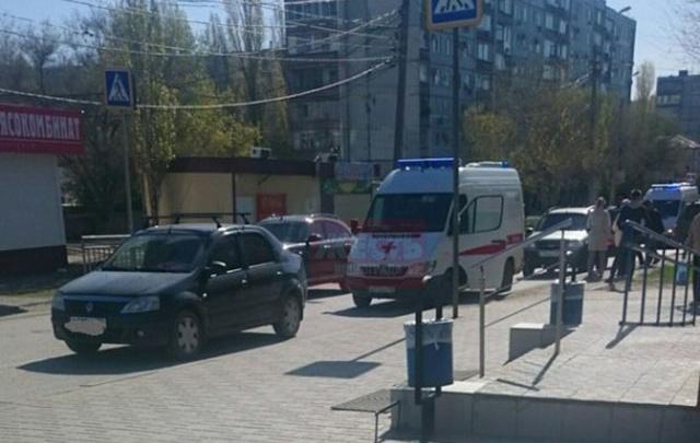 В Волгограде на пешеходном переходе иномарка сбила ребенка