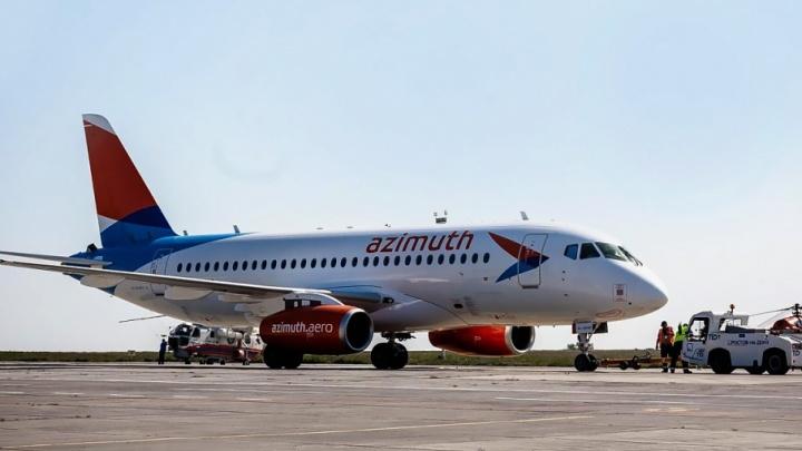 Авиакомпания «Азимут» стала базовым перевозчиком аэропорта Платов