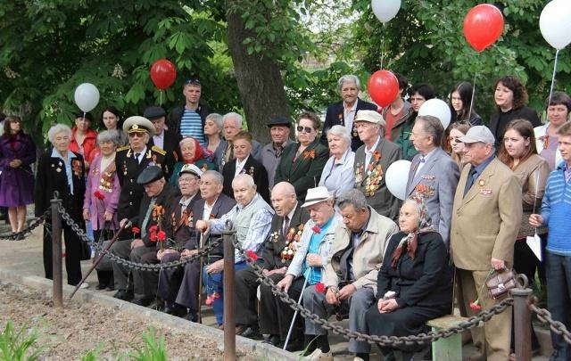 «Красный Октябрь» поздравил ветеранов с годовщиной Победы