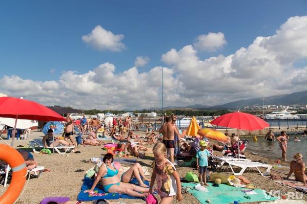 Волгоградцам обещают по-настоящему жаркие выходные на пляже