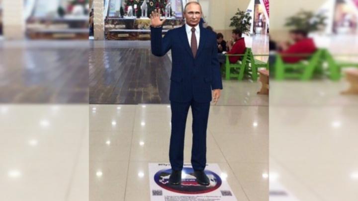 Ярославцы смогут сфотографироваться с Путиным в трех торговых центрах: адреса